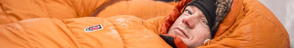 Sacos de dormir Plumón