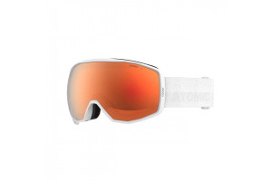 White (Lens: Dark Brown - Red Stereo)-swatch