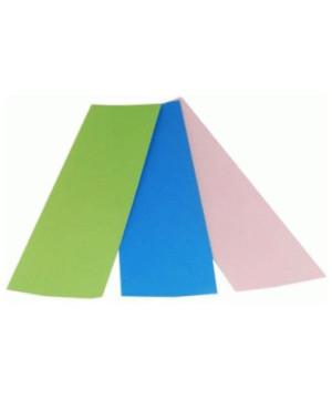Blue (40 mµ)-Green (30 mµ)-Pink (3 mµ)-swatch